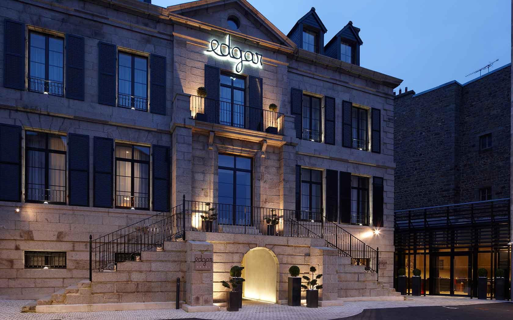 Photo De Galerie Exterieur gallery | hotel edgar *** | saint-brieuc