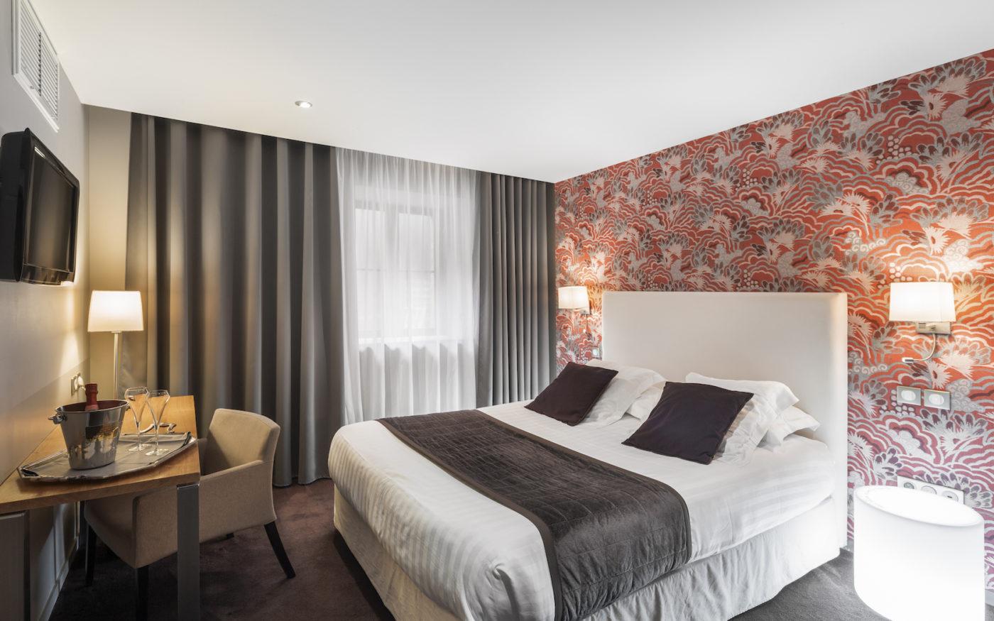HOTEL EDGAR SAINT BRIEUC - CHAMBRE CONFORT