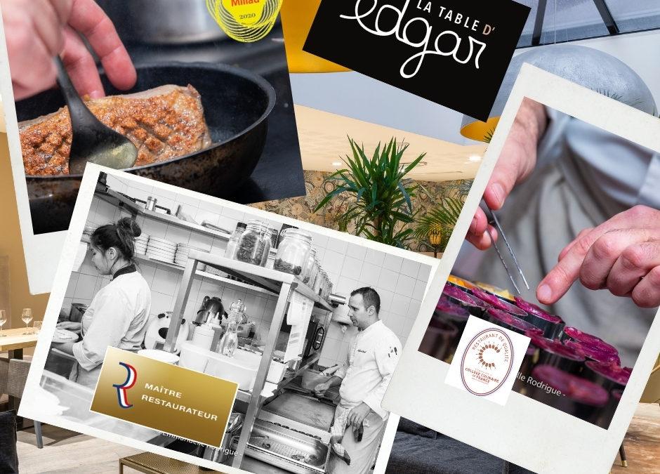 Une belle récompense culinaire – Maitre Restaurateur